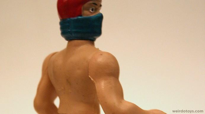 Naked Ninja Stuntman