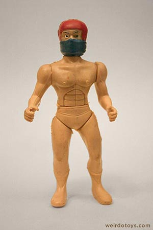 Naked Ninja Stuntman - weird toy