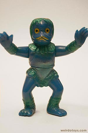 Blue Duck Man - Weird Japanese Monster Toy by TOMY