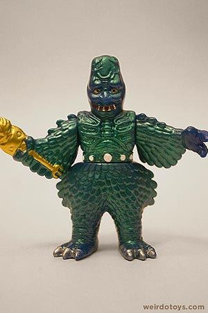 Lizard Bird Man - Weird Japanese Monster Toy by TOMY