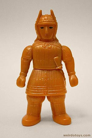Gold Samurai - Weird Japanese Monster Toy by TOMY