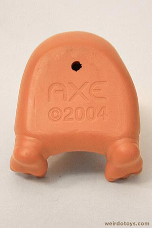 Axe's Pitman Keychain - weird hairy armpit toy