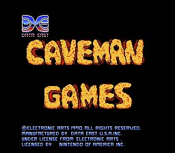 Caveman Games screenshot