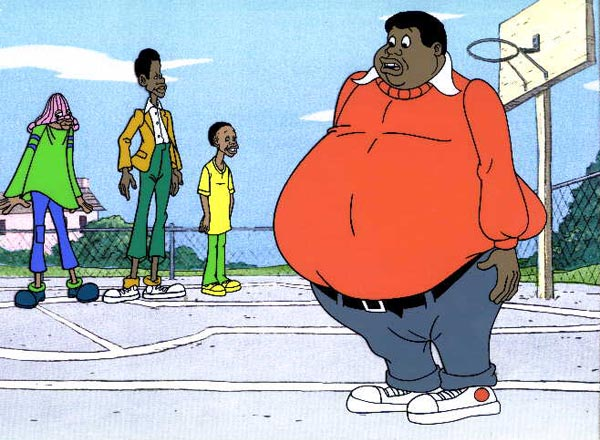 Fat Albert Cartoon