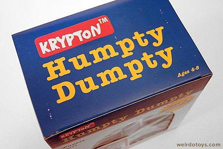Humpty Dumpty Puzzle Bank Toy Box - Playskool Ripoff
