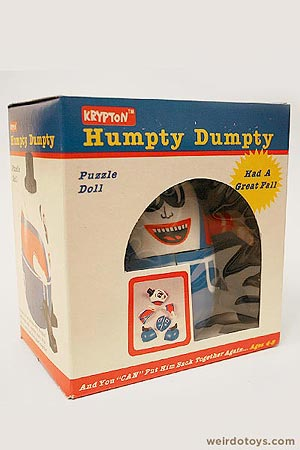 Humpty Dumpty Puzzle Bank Toy Box