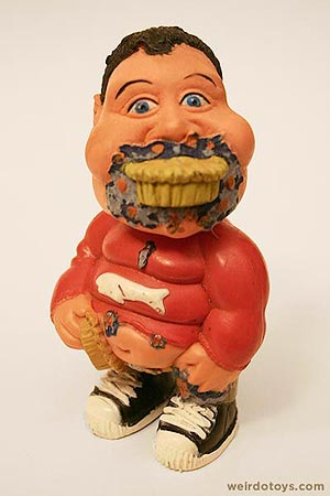 Gross Out Gang - Fat Pie-Eater Kid toy - Skilcraft 1987