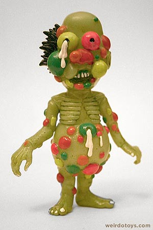 Hideshi Hino - Zowruko Horror Zombie Toy by Planet Toys
