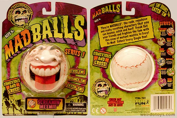 Madballs 2007 - Screamin' Meemie - toy package