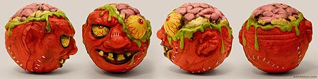Madballs 2007 - Bash Brain - Gross ball toy