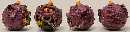 Madballs 2007 - Horn Head - Gross ball toy