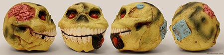Madballs 2007 - Skull Face - Gross ball toy