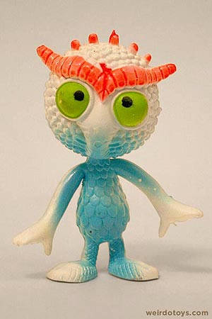 Outer Terrestrial Creatures - Ooggy - Weird, bendy alien toy by Marty Toy, 1983