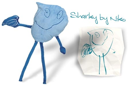FAO Schwarz Make-Your-Own-Monster Custom Design Kit - Sharky