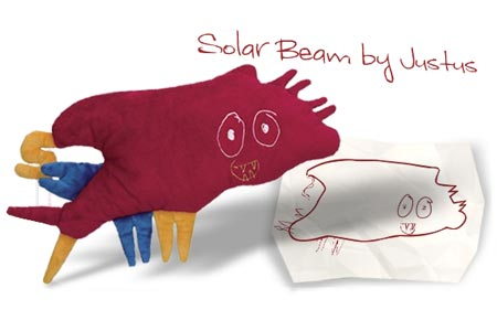 FAO Schwarz Make-Your-Own-Monster Custom Design Kit - Solarbeam