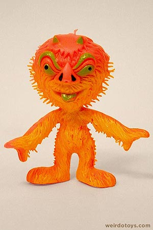 Outer Terrestrial Creatures - Uggy - Weird, bendy alien toy by Marty Toy, 1983
