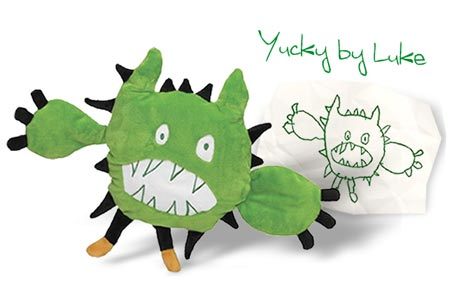 FAO Schwarz Make-Your-Own-Monster Custom Design Kit - Yucky