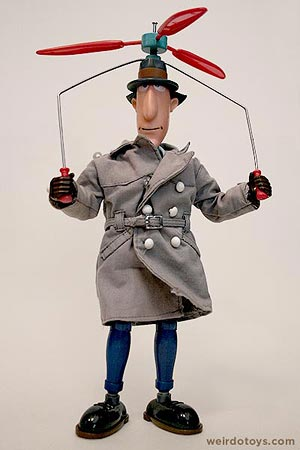 Inspector Gadget Action Doll by Galoob 1983