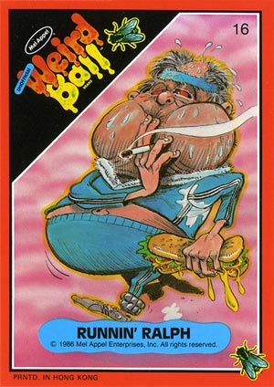 Weird Ball - Runnin' Ralph - Trading Card