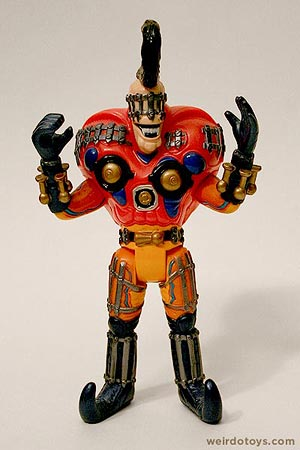 Wolfgang Amadeus Griller - Power Rangers Monster - weird action figure that squeaks