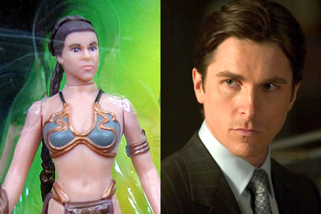Christian Bale as Princess Leia