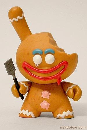 Kidrobot - Gingerbread Chase - Kronk