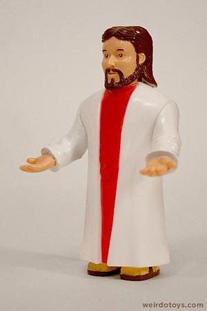Squatty Jesus Toy