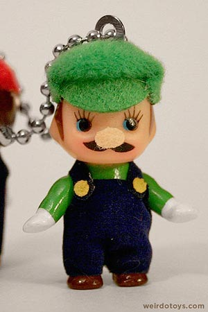 Kewpie Doll - Luigi Keychain