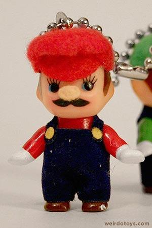 Kewpie Doll - Mario Keychain