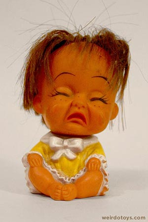 Crying Girl Doll