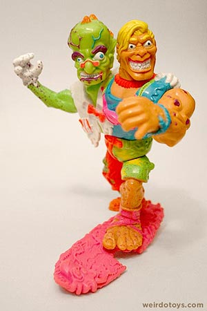 Toxic Crusaders - Headbanger Action Figure by Playmates