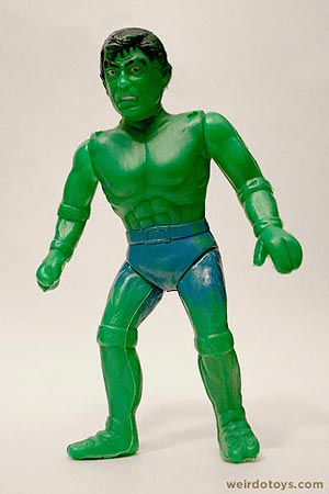 Mexican Bootleg Hulk Toy
