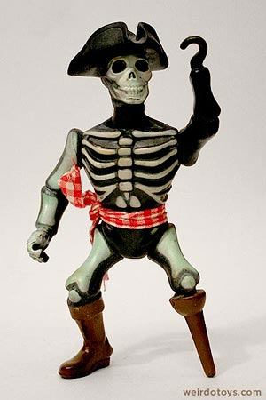 Captain Kidd - Nightmare Warriors Action Figure