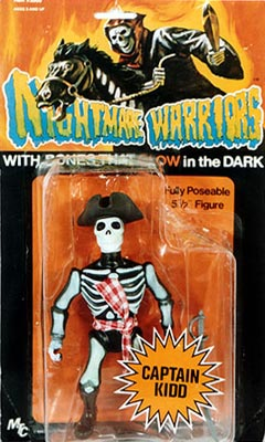 Nightmare Warriors - Captain Kidd