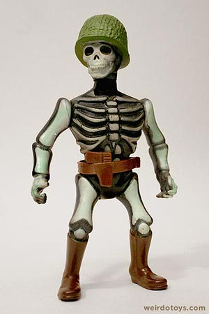 Major Bones - Nightmare Warriors Action Figure