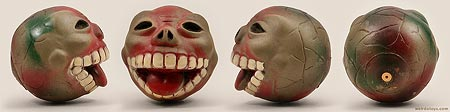 Ugly Ball - Skull Faced Generic Madball Bootleg