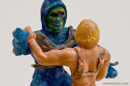 He-Man &amp; Skeletor - Generic Mexican Action Figures