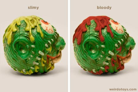 Madballs' Slobulus - Slimy and Bloody Heads