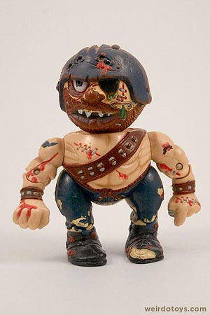 Bruise Brother - Head Popping Madballs figure by AmToy