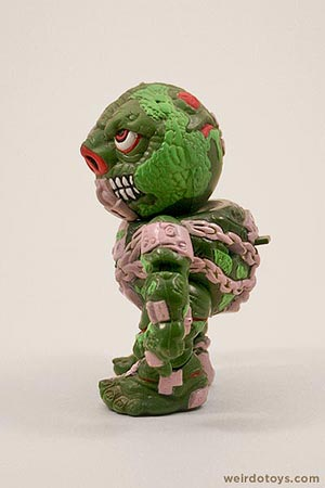 Lock Lips - Head Popping Madballs figure by AmToy