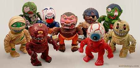 Madballs Head-Popping Figures by AmToy