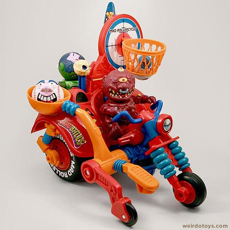 Madballs Rolelrcycle by AmToy