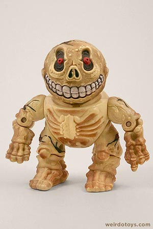 Skull Face - Head Popping Madballs figure by AmToy