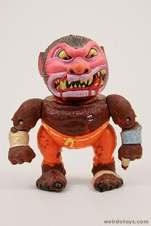 Wolf Breath - Head Popping Madballs figure by AmToy