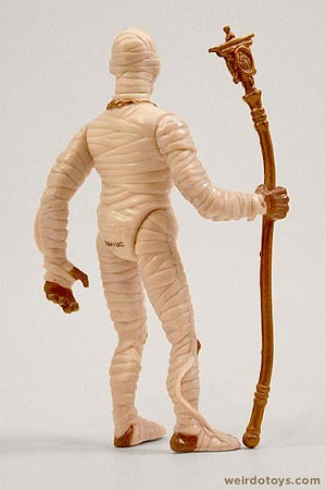 Socket Poppers Mummy figure by Ertl