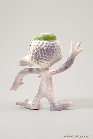 Outer Terrestrial Creatures - Okky - Weird, bendy alien toy by Marty Toy, 1983