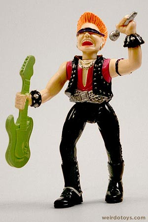 Socket Poppers Rock Star figure by Ertl