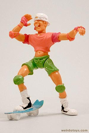 Socket Poppers Skateboarder figure by Ertl