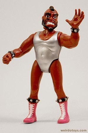 Socket Poppers Wrestler figure by Ertl