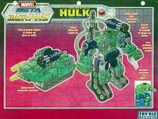 Hulk Metamorphs Robot